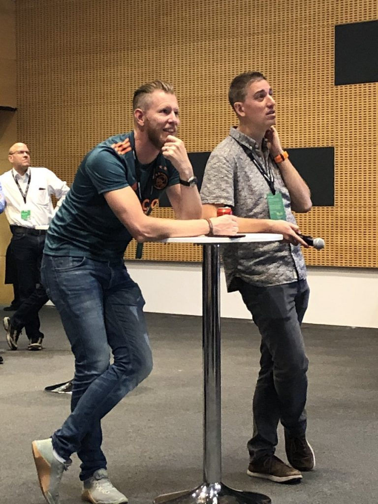 VMworld Barcelona 2019 Johan van Amersfoort and Brian Madden Community tech Talks 2019