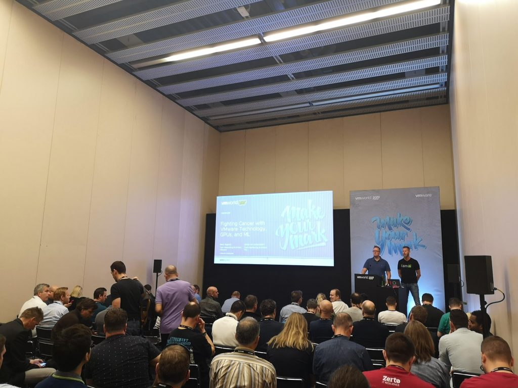 VMworld Barcelona 2019 Fight Cancer with VMware Technologies