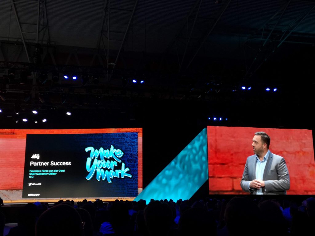 VMworld 2019 Partner General Session Francisco Perez