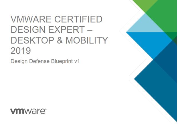 VCDX Blueprint